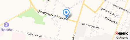 Рада на карте Сыктывкара