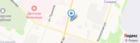 Зодиак на карте Сыктывкара