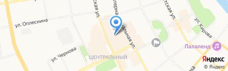Детский сад №70 на карте Сыктывкара