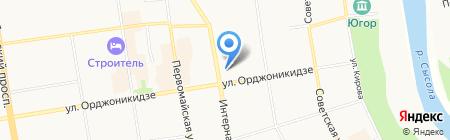 InFit на карте Сыктывкара
