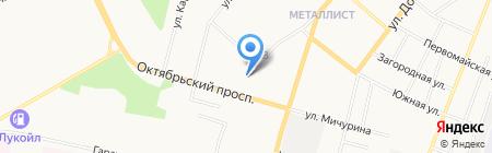 Средняя общеобразовательная школа №35 с углубленным изучением отдельных предметов на карте Сыктывкара
