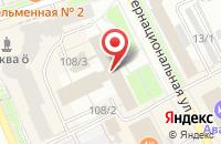 Схема проезда до компании Интер-Термогаз в Сыктывкаре