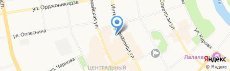 Министерство национальной политики Республики Коми на карте Сыктывкара