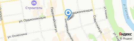 МАЛКОН на карте Сыктывкара