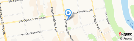 Зеленый свет на карте Сыктывкара