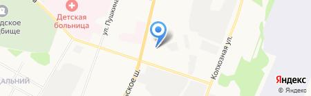 Алтын на карте Сыктывкара