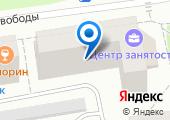 Центр занятости населения г. Сыктывкара на карте