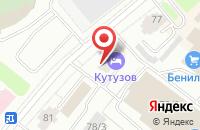 Схема проезда до компании Нордстрой Сервис в Сыктывкаре