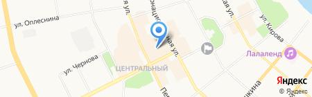 Bonjour на карте Сыктывкара
