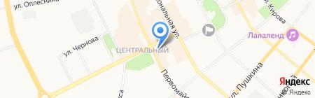 Ярмарка на карте Сыктывкара