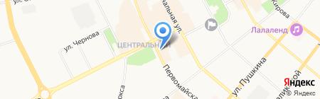 SUN MARI на карте Сыктывкара