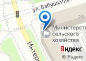 Министерство сельского хозяйства и потребительского рынка Республики Коми на карте