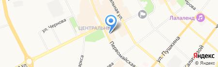 Альфа Металкрафт Рус на карте Сыктывкара