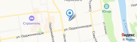 Пульс на карте Сыктывкара