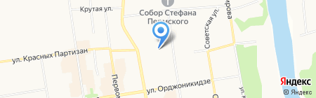 Интеллект на карте Сыктывкара