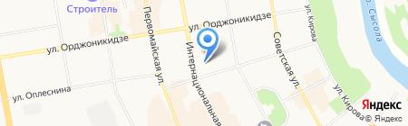 Государственная жилищная инспекция Республики Коми по г. Сыктывкару на карте Сыктывкара