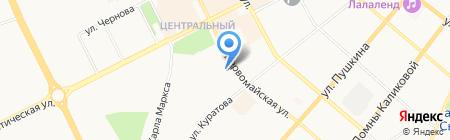 Дилижанс на карте Сыктывкара