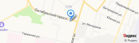 ТеплоНова на карте Сыктывкара