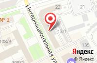 Схема проезда до компании Северный Транзит в Сыктывкаре