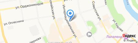 Большая Медведица на карте Сыктывкара