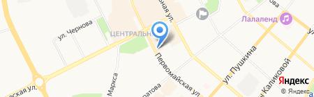 ПироКом на карте Сыктывкара