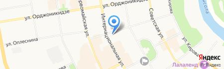 Министерство сельского хозяйства и продовольствия Республики Коми на карте Сыктывкара