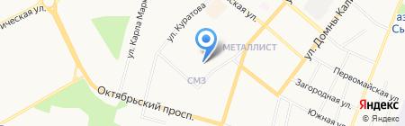Райда отделение помощи женщинам на карте Сыктывкара