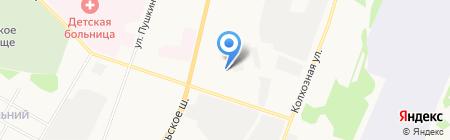 Акцепт на карте Сыктывкара