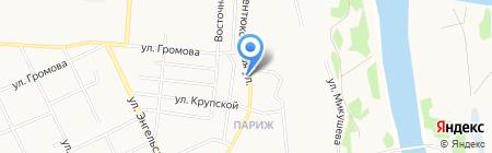 Все матрасы тут на карте Сыктывкара