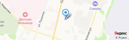 Филин на карте Сыктывкара