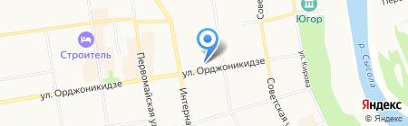 Управление дошкольного образования на карте Сыктывкара