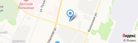 ЖилСервис на карте Сыктывкара