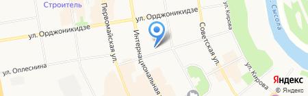 Городской информационно-коммуникационный центр на карте Сыктывкара