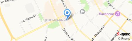 Детский сад №67 на карте Сыктывкара