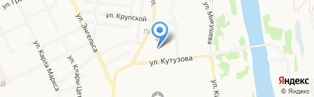 Диамонд на карте Сыктывкара