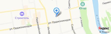 Дельта на карте Сыктывкара