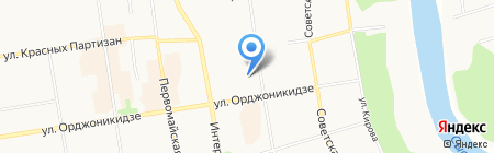 Avon на карте Сыктывкара