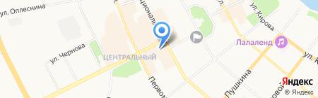 ВНИГНИ на карте Сыктывкара