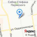 Сумочка на карте Сыктывкара