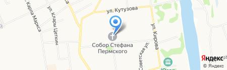 Свято-Стефановский Кафедральный собор на карте Сыктывкара