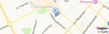 СТЕП на карте Сыктывкара