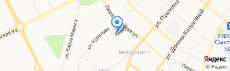 Центр перепланировки помещений Республики Коми на карте Сыктывкара