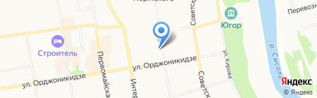 Дом плюс интертур на карте Сыктывкара