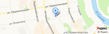 Покров Коми на карте Сыктывкара