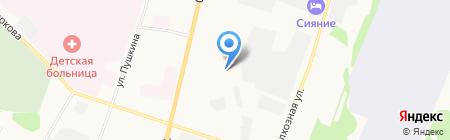 Теплокомфорт на карте Сыктывкара
