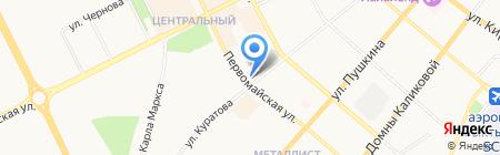 Банкомат Хоум Кредит энд Финанс Банк на карте Сыктывкара