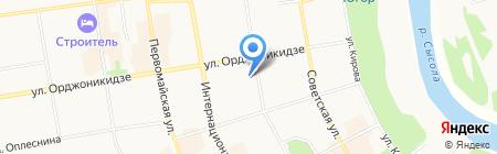 АКВАМАРИН на карте Сыктывкара