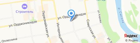 Комигражданпроект на карте Сыктывкара