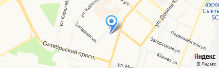 Новая мебель на карте Сыктывкара