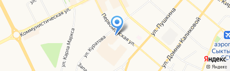Архивное Агентство Республики Коми на карте Сыктывкара